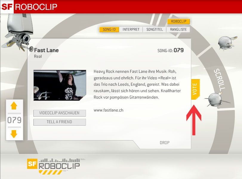 """Vote for Fast Lane's """"Real"""" video @ Roboclip SF II"""