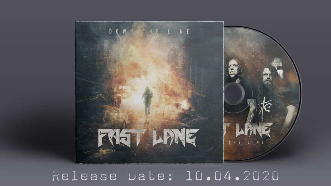 """Fast Lane - new single """"Down The Line"""" out 10.04.2020!"""