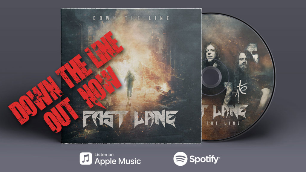 """Fast Lane - new single """"Down The Line"""" out now!"""